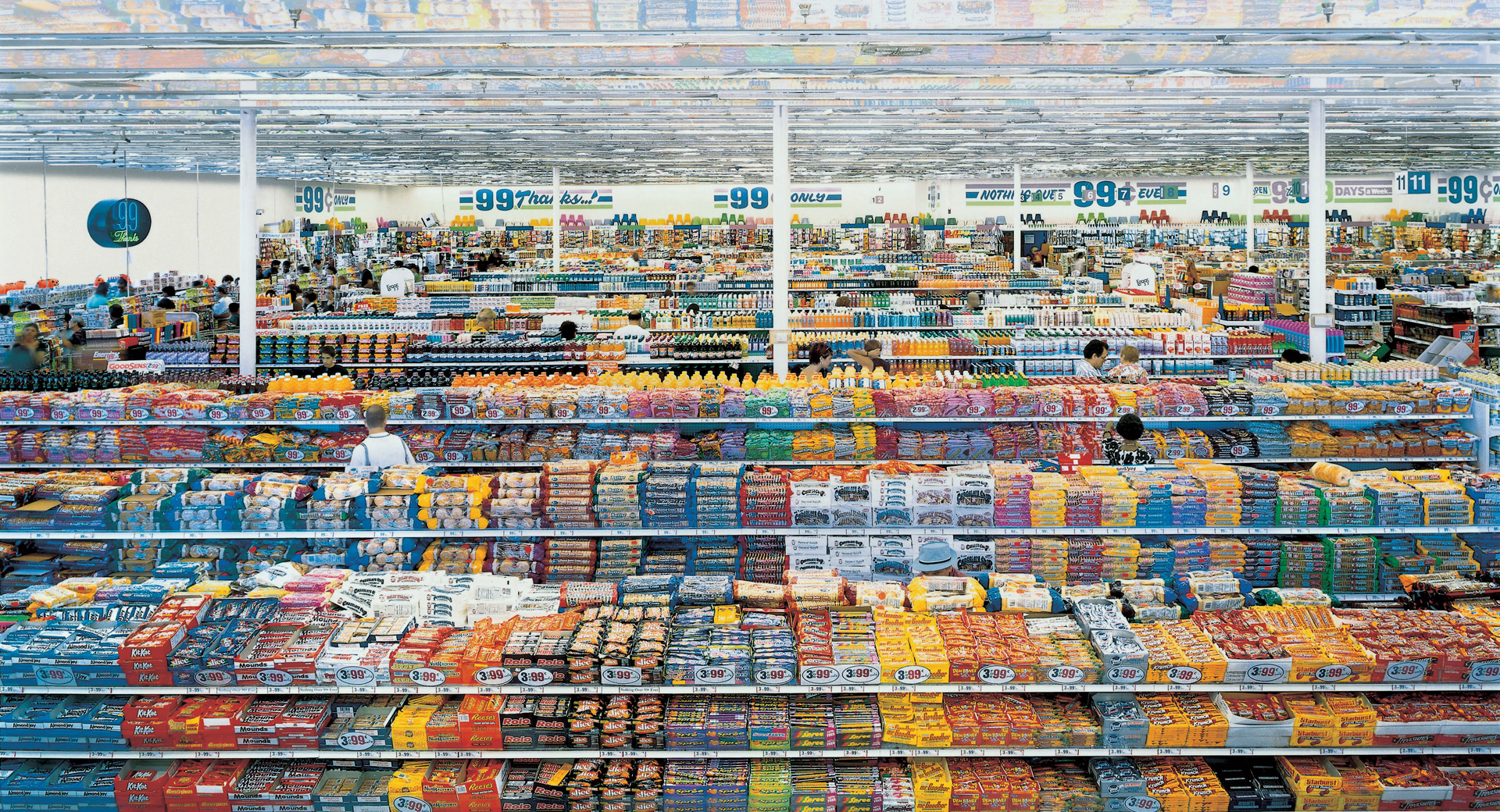 Art Store 99 Cent Andreas Gursky The Broad