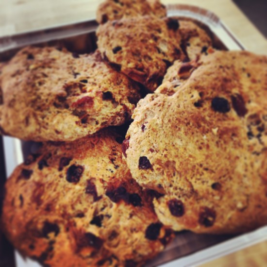 Fruit and Nut Soda Bread