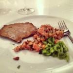 Salmon Tartare & Rye Crackers