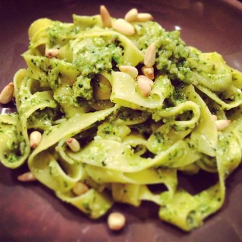 Spinach & Asparagus Pesto