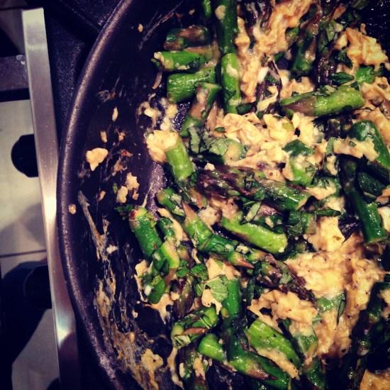 Tanis Eggs Asparagus