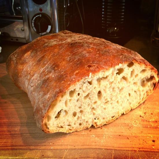 100% white flour