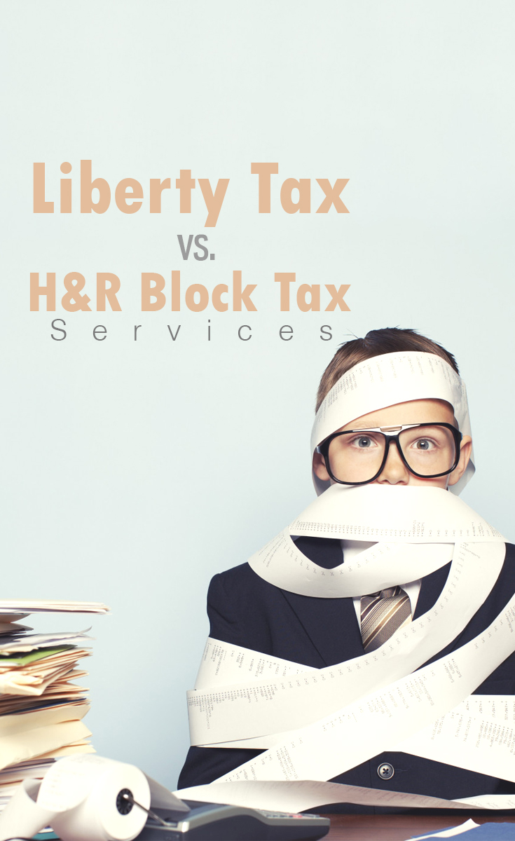Diy Free Tax Review Liberty Tax Vs H R Block Tax Services The Budget Diet