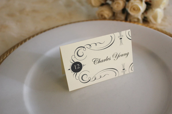 Free Printable Place Cards The Budget Savvy Bride - wedding place cards template free