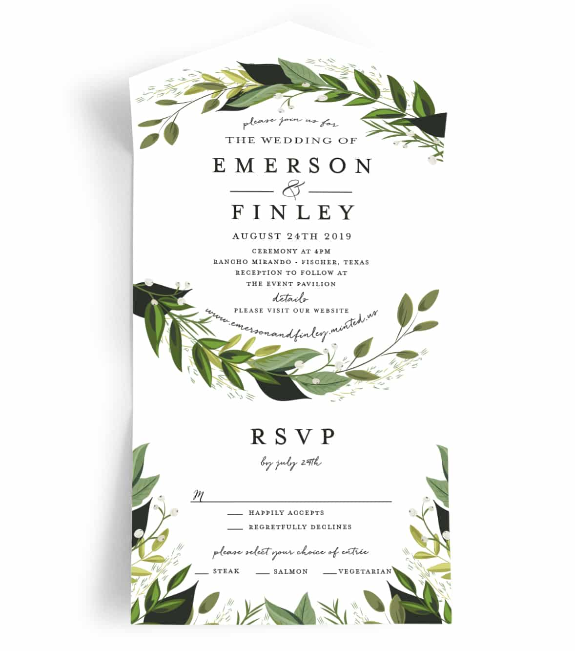 Attractive One Wedding Invitations Wedding Invitation From Minted Most Inexpensive Efficient Wedding Invitations Ever All One Wedding Invitations Cheapest All wedding invitation All In One Wedding Invitations