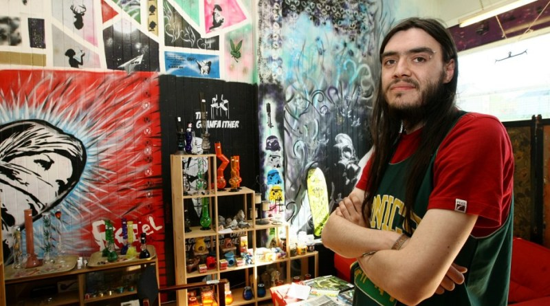 COURIER, DOUGIE NICOLSON, 01/06/16, NEWS. Pictured in his shop on Strathmartine Road in Dundee today, Wednesday 1st June 2016, is Nik Brown. Story by Jamie, reporters.