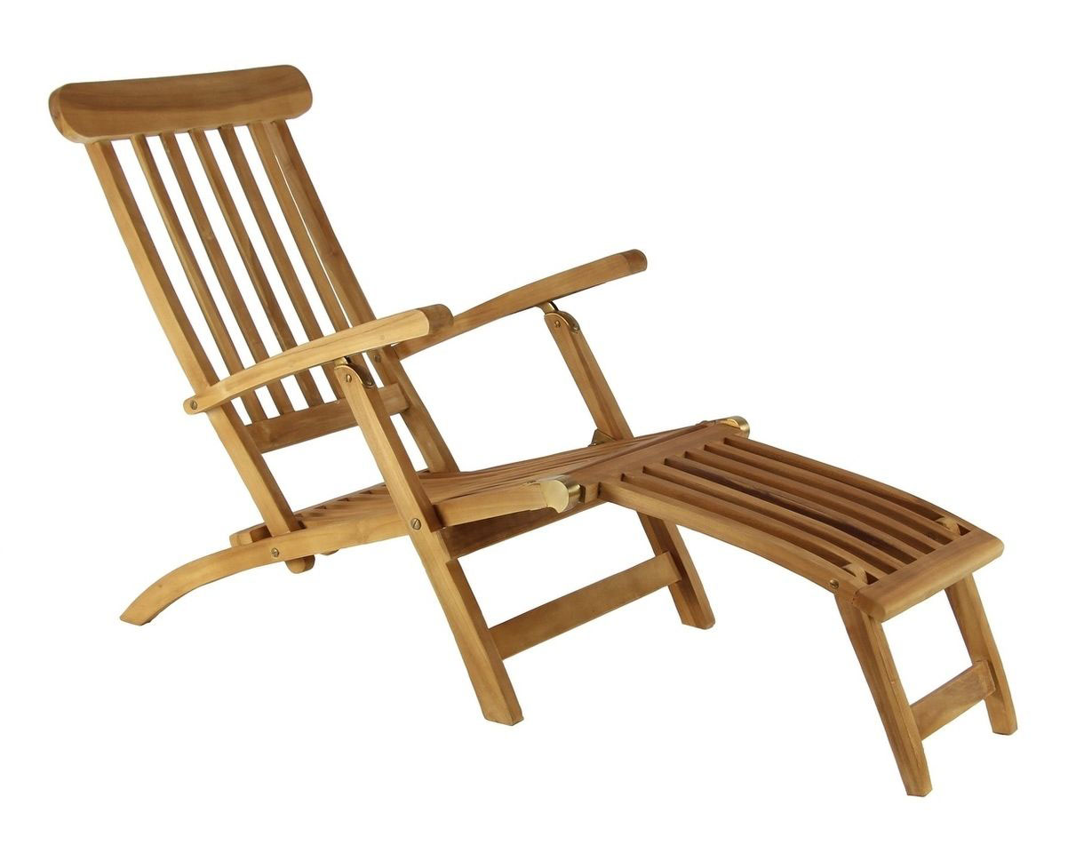Teak Steamer Lounge Chair Signature Selection In