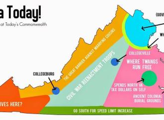Virginia Today–A Map of Current State of the Commonwealth
