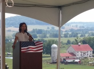Jill Vogel rocks fundraising totals for 2017 race