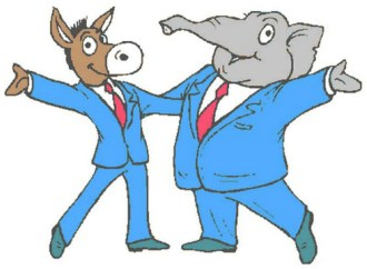Democrats & Republicans: Better Get Together Before Their Parties Ruin America