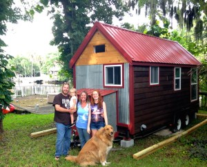 Photo by Kelly Ross, Tiny House Listings - Jon, Hazy, Lisa, Adelaide and Hank the Tank