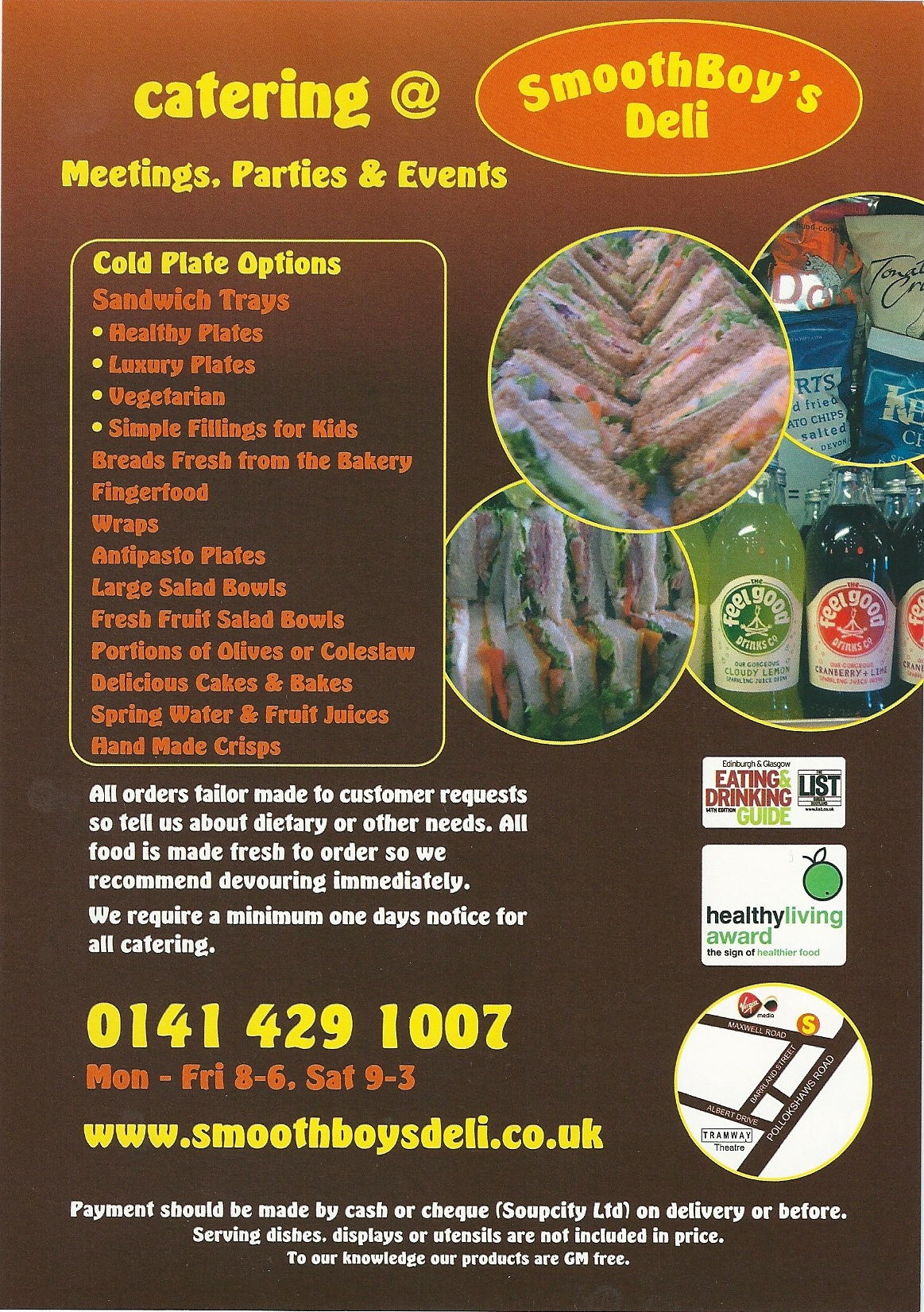 flyers for catering business