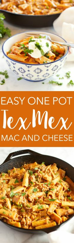 Comfortable Cheese Is Cheesyweeknight Easy One Pot Tex Mex Mac This Easy One Pot Tex Mex Mac Cheese Busy Baker Tex Mex Recipes Enchiladas Tex Mex Recipes Sides