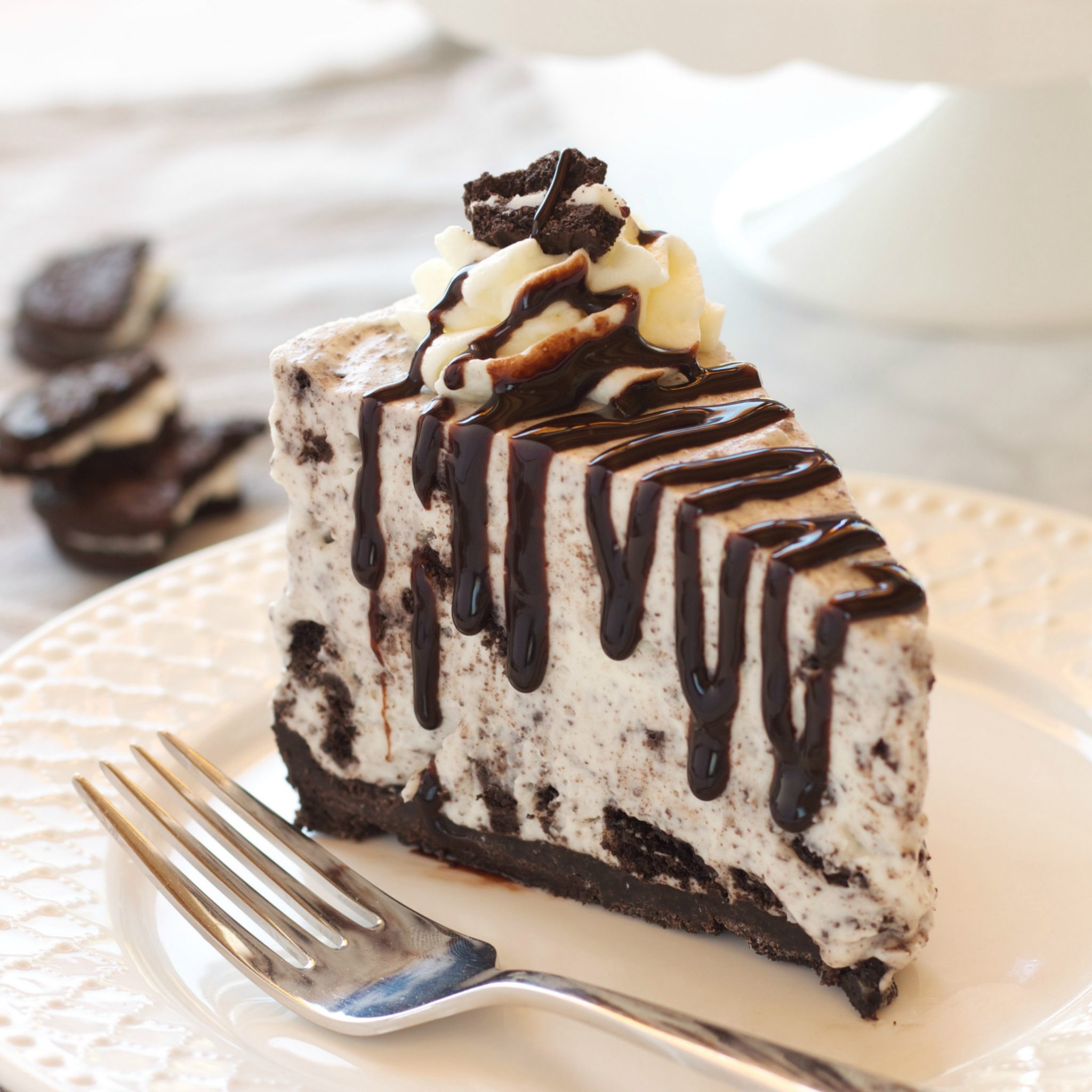 No Bake Oreo Kuchen Easy No Bake Oreo Cheesecake