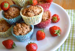 Organix strawberry muffins