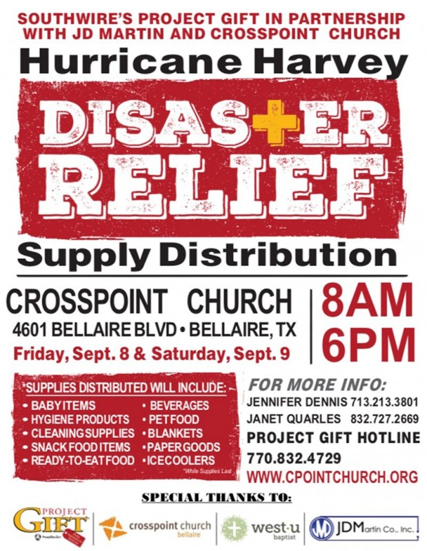 Hurricane Harvey Disaster Relief The Buzz Magazines - Disaster Relief Flyer