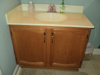 Can I Reface My Bathroom Vanity? | thecabinetremodeler