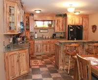 The Cabinets Plus | Rustic Hickory Kitchen Cabinets