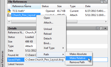 The new External Reference tools you didn't know about in AutoCAD 2014