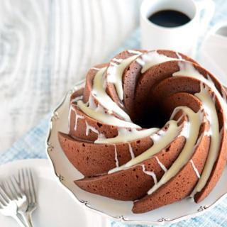 Healthier Chocolate Coffee Cake