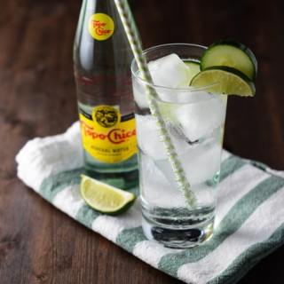 Topo Chico Cucumber Cocktails