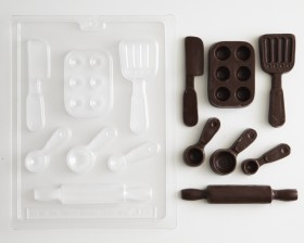Specialty Chocolate Molds Suckers Candy Coating