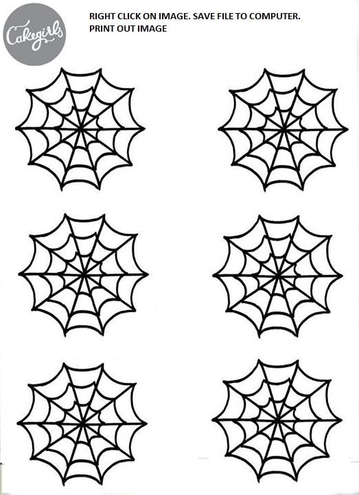 Spooky Spider Web Cupcake How-To Cakegirls