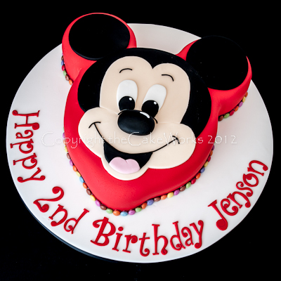 Hand Made Mickey Mouse Cake