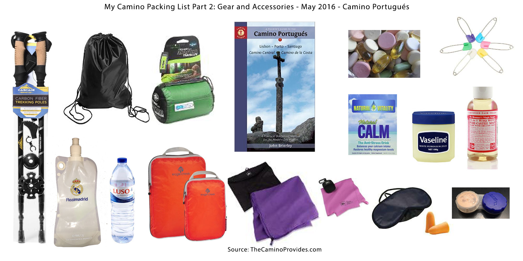 Camino Santiago Packing List Camino Packing List Part 2 Gear And Accessories The Camino Provides