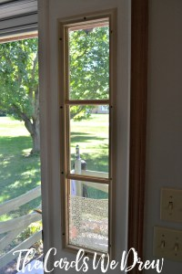 How to Do a Glass Etched Front Door Side Window