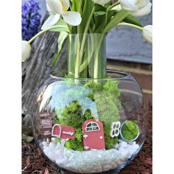 Antique More Information About Ir New Lineof Fairy Garden Fairy Garden Spring Flower Centerpiece Cards We Drew Mini Fairy Garden Flowers Fairy Garden Fake Flowers You Can Visit Plaid Crafts Online