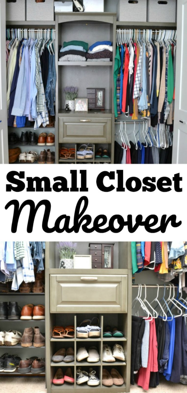 Make Over Diy Closet Makeover The Cards We Drew