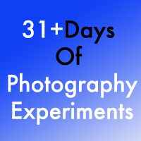 31+ Days Of Photography Experiments Logo