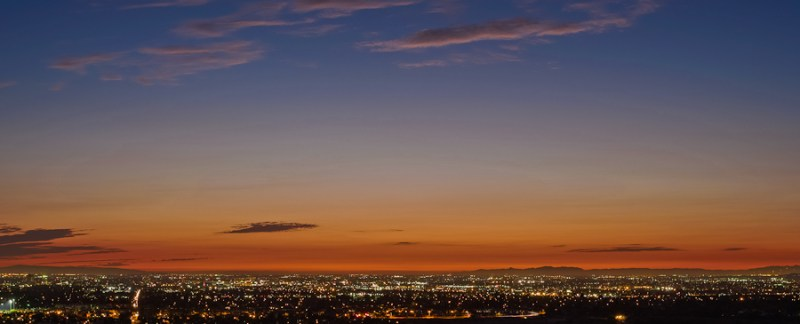 Sunset, Orange County, California