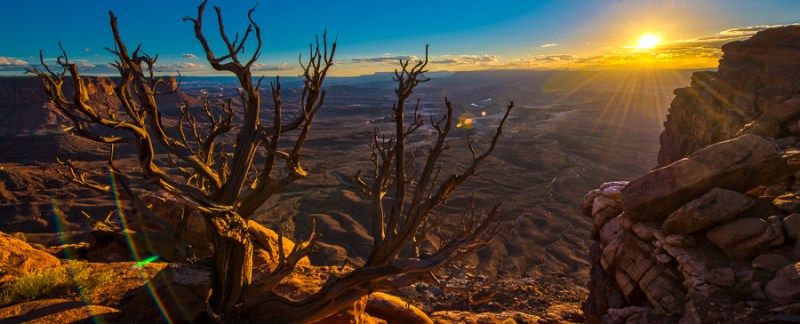 Sunset Over Canyonlands National Park