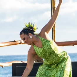 Luau Dancer, The Grand Wailea, Maui, Hawaii, USA