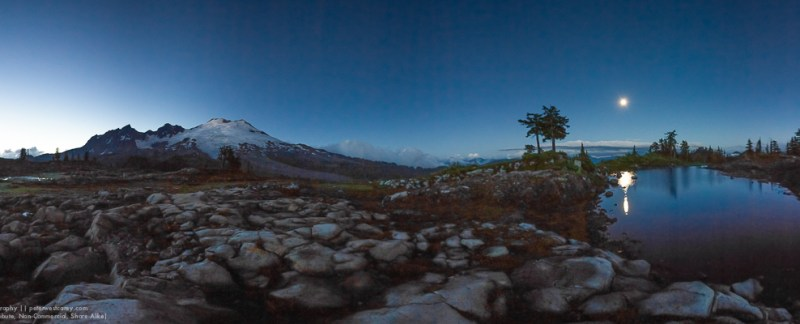Peter-West-Carey-Mt Baker After Sunset-3
