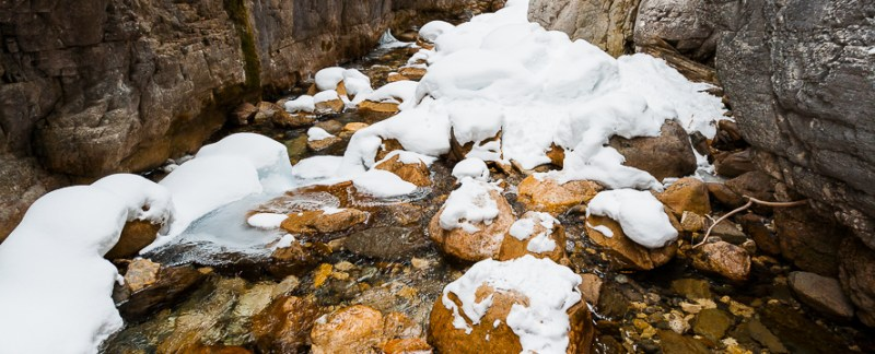 Winter Creek, Yoho Naitonal Park, British Columbia, Canada