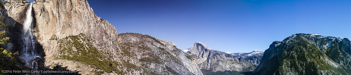 Photo Of The Day – Yosemite Falls And Half Dome Panorama