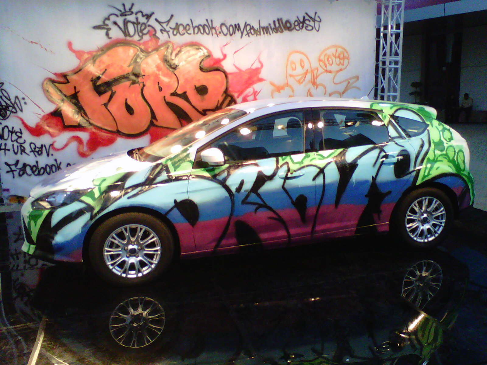 Amazing Car Wallpaper Graffiti Thecarmaniac