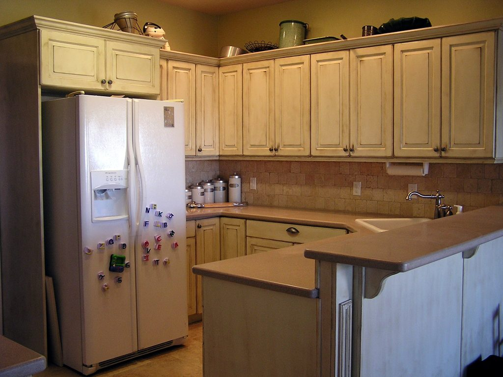 Kuche Top Mount Bar Fridge Oklahoma City Kitchen Cabinet Cabinet Refacing Replace Cabinet