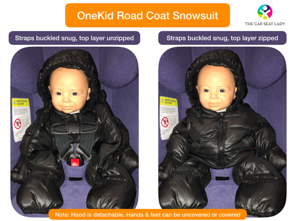 The Car Seat Lady Keep Kids Warm And Safe In The Car Seat