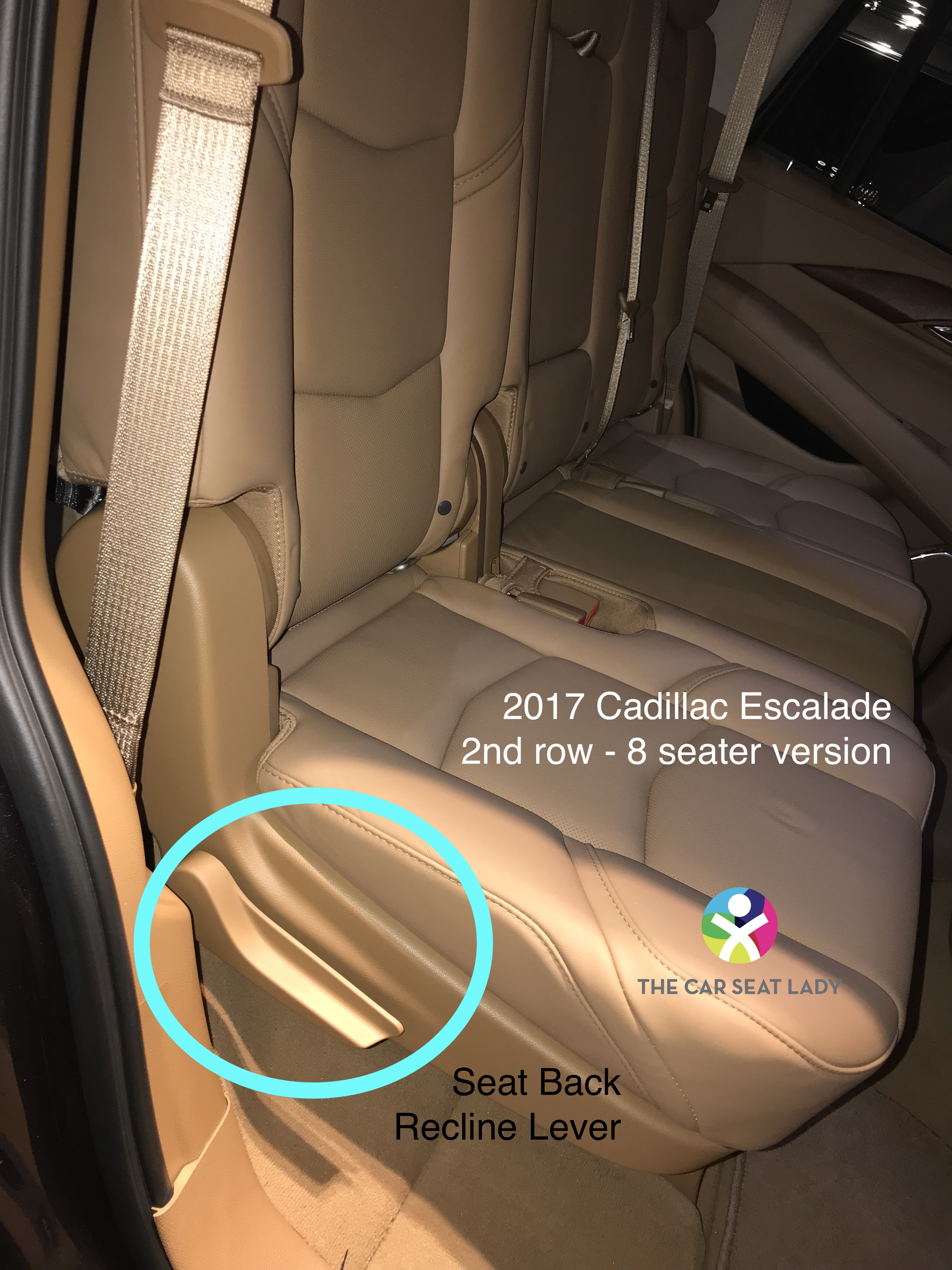 50*50 The Car Seat Lady – Chevrolet Suburban