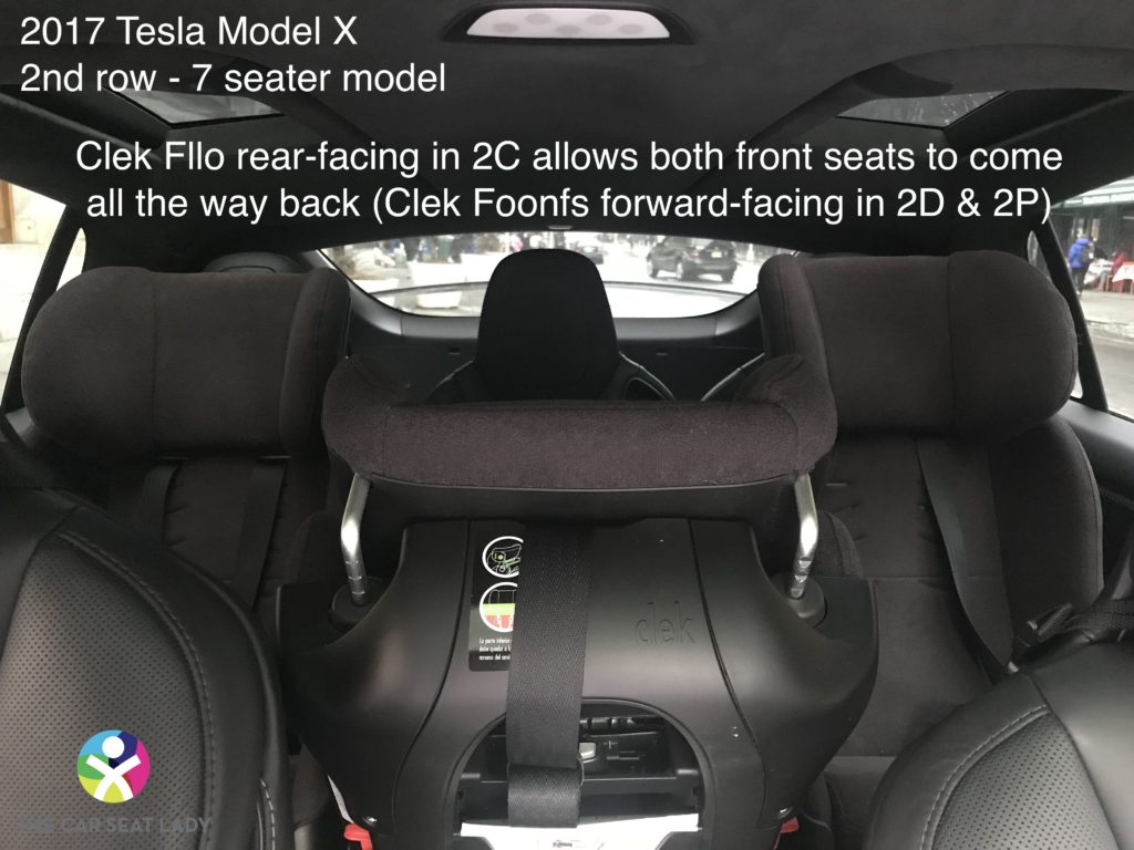Rear Facing Car Seat Behind Driver The Car Seat Lady – Tesla Model X