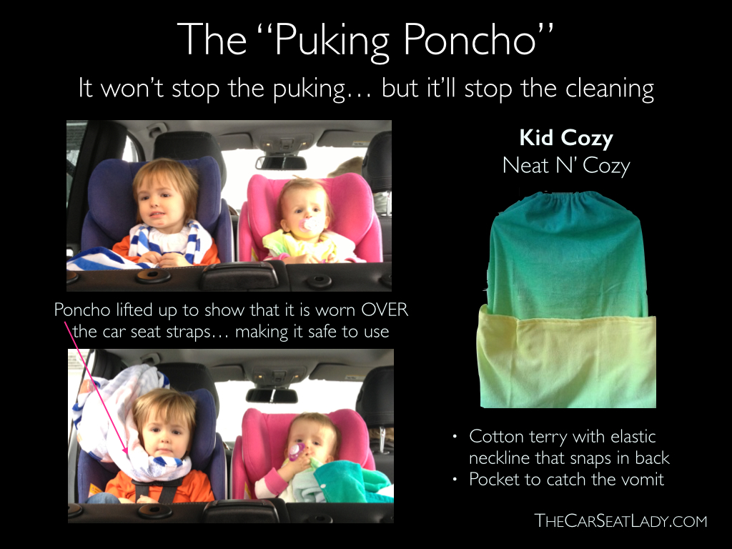 "Infant Carrier That Is Not A Car Seat Motion Sickness The ""puking Poncho"" The Car Seat Lady"