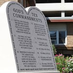 Project Moses promotes 10 Commandments