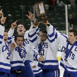 Cadets mount comeback to capture hockey title