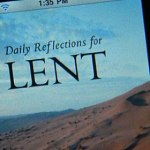 New Lenten reflections app for iPad and iPhone
