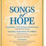 Remember 9/11 at Basilica's 'Songs of Hope' concert Saturday night, Sept. 10