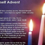 Advent – Week 3